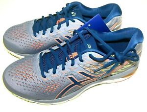 ASICS Mens Size 9.5 Gel Cumulus 21 Lace Up Road Trail Running Athletic Sneaker