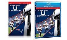 New England Patriots Super Bowl 51 LI Champions - Blu-ray & DVD (2 Disc) Sealed