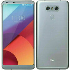 LG G6 VS988 32GB Platinum Verizon Unlocked GSM Android 4G Smartphone VERY GOOD
