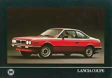 LANCIA BETA COUPE 1300 & 2000ie opuscolo (francese)