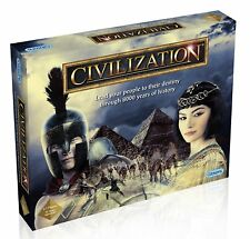 GIBSONS CIVILIZATION SKILL & STRATEGY BOARD GAME AGE 12+ FOR 2-7 PLAYERS - NEW