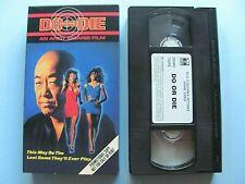 Do Or Die ~ 1991 VHS SCREENER Movie WORKS Malibu Bay Films ~ Andy Sidaris Morita