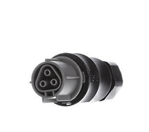 Wieland Stecker ST18 ST18//3B1 schwarz mit Zugentlastung preis für 10 stück