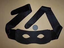 Augenmaske Maske Bandit Zorro Zubehör Erotik mit Bindeschlaufen kein Gummi
