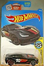 2016 Hot Wheels #180 HW Speed Grapics 5/10 '14 CORVETTE STINGRAY Black w/Pr5 Sp