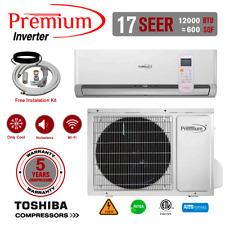 12000 BTU Air Conditioner Mini Split 17 SEER INVERTER AC Ductless ONLY COLD 110V