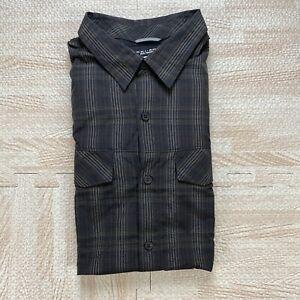Columbia Men's Light Brown Omni-Shade Silver Ridge Long Sleeve Button Down Shirt