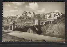 3010.-TOLEDO -Puente de Alcántara y Alcázar y vista parcial (Foto)