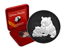 10 Yuan Silber China Panda 2012 Yin Yang  Edition in Box und CoA