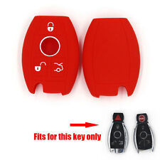 Silicone Key Shell Smart Remote Case Fob Cover for E C R CL GL SLK Case 3/4 BTNS