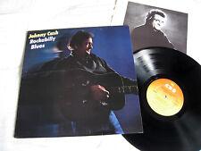 JOHNNY CASH - Rockabilly Blues - Original 1980 UK Vinyl LP + Insert CBS 84607 EX
