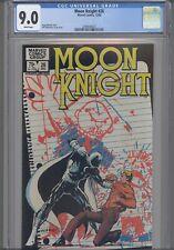 Moon Knight #26 CGC 9.0 1982 Marvel: Sienkiewicz Art/ Cover: New Frame: Disney