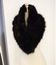 Unisex Faux fox fur Infinity Scarf Stole Shawl Scarves Wrap Easy Match Collar