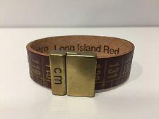 New - Pulsera Bracelet - ILCENTIMETRO - Vintage Long Island Red - Size XS 16 cm