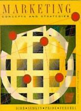 Marketing: Concepts and Strategies,Sally Dibb,etc.,Simkin,PRIDE,Ferrell