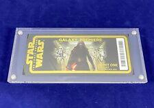 Star Wars The Force Awakens Galaxy Premiere Ticket