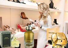 Lot of (3) Ladies Designer Cologne Spray Samples + FREE GIFT