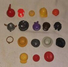 24762 Playmobil Lot de 2 Têtes avec Cheveux Classiques Orange Foncé