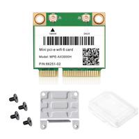 Mini PCI-E MPE-AX3000H Wi-Fi 6 wifi Card Dual Band 802.11AX wifi Bluetooth Card