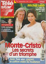 Tele Star N° 1148 Du 28/09/1998 - Monte-Cristo - Depardieu - Claudia Cardinale -