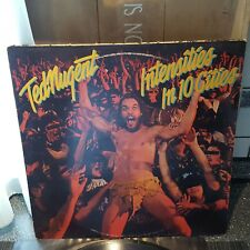 Ted Nugent intensities in 10 cities 1981 LP Vinyl Schallplatte
