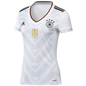 Official Adidas Women's DFB Germany Home Shirt 2017, Size: UK 12-14, 16-18