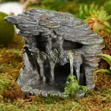 New Georgetown Fiddlehead Fairy garden House - Skull Lagoon