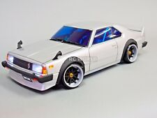 Custom Eagle Racing 1/10 SKYLINE GTR WIDE Body RWD DRIFT + L.E.D Lights -RTR-
