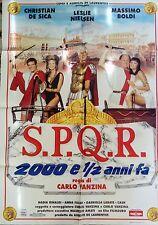 manifesto movie poster 2F S.P.Q.R. 2000 e ½ anni fa carlo vanzina de sica boldi