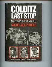 Colditz Last Stop - Six Escapes Remembered.,. Maj J Pringle, Kimber 1st HBdj
