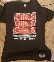 Men's Jay- Z Girls Girls Girls T-Shirt Rocksmith Size L Black