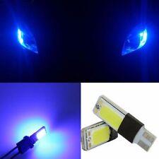 2pcs T10 194 168 2825 2886 W5W High Power COB LED Bulbs Car Light Blue color