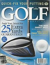 Golf magazine Angle for extra yards Club drivers Darren Clarke Vietnam tour