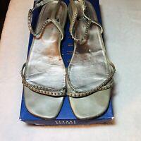 Stuart Weitzman-Womens Wedge Sandals-Size 9.5