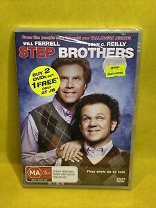"STEP BROTHERS (DVD, 2009) BRAND NEW / SEALED ""REGION 4"""