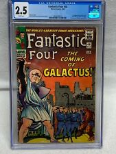 FANTASTIC FOUR #48 1ST APPEARANCE OF SILVER SURFER AND GALACTUS CGC 2.5 MAR 1965