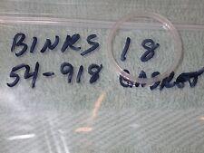 Binks spray gun Model 18 54-918 gasket