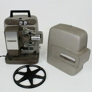 Vintage Bell & Howell Model 245 BA Autoload 8mm Film Movie Projector Working
