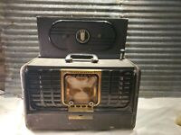 Vintage Zenith Trans-Oceanic G500 Shortwave Radio World Receiver (1949)