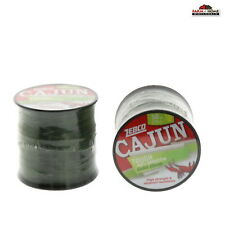 (2) Cajun Tough Gator Green Fishing Line 50lb 275yd ~ NEW
