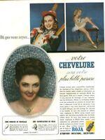Publicité ancienne brillantine Roja 1948 issue de magazine
