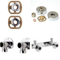 THERMOSTATIC MIXER BAR SHOWER WALL PLATE BRACKET CHOICES WALL MOUNTS