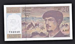 FRANCE * billet de 20 francs Debussy de 1997 * NEUF * A.057 / 732040