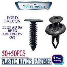 50+50 Fit FORD Falcon AU BA BF Car Plastic Rivets Guard Liners Bumper Retainer