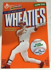 Rare Mark McGwire 1998 Record Breaking 70 Home Runs Wheaties Sealed Cereal Box