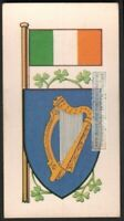 Flag And Standard Banner For  Ireland c50 Y/O Trade Ad Card
