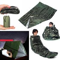 Notschlafsack thermisch wasserdicht für Survival Outdoor Camping Wandern