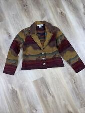 Womens Blazer Size Med Southwest Canyon Equestrian