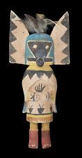 Ancienne Poupée style Hibou à cornes Hopi Wuhti Kachina amérindienne 38 cm 23