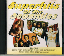 CD - SUPERHITS OF THE SEVENTIES / CD THREE #D41#